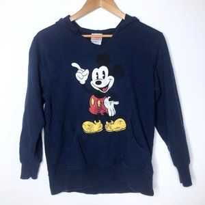 Disney Store Distressed Mickey Mouse Hoodie
